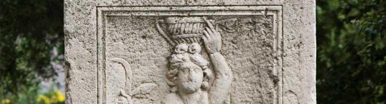 Római kori dombormű másolata