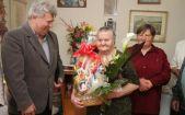 Hírkép: Isten éltesse a 90 éves Magdi nénit!