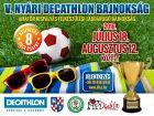 Hírkép: V. Decathlon Nyári Kispályás Foci Bajnokság