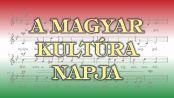 Hírkép: Magyar Kultúra Napja a Bartókban!
