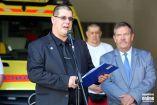 Hírkép: Új esetkocsi a mentőállomáson