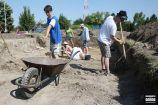 Hírkép: Elkezdődtek az ásatások a kőtár területénél
