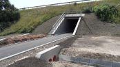 Hírkép: Műszaki különlegesség az M1-es alatt - Országosan is egyedülálló kerékpáros alagút Pannónia Szívében