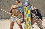 Hírkép: A Familia Gladiatoria fellépése Intercisában