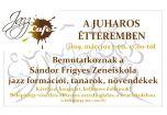 Hírkép: Jazz Café a Juharos Étteremben