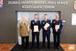 Hírkép: Átadták a Dunaújváros Közbiztonságáért díjat