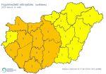 Hírkép: Második szintű riasztás van érvényben a Dunaújvárosi Járás területén