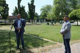 Hírkép: Virágba borulnak Dunaújváros közterei