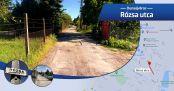 Hírkép: Utcanévnapok II Rózsa utca