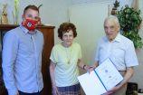 Hírkép: Rubin diplomás szépkorú ünnepelte 95. születésnapját