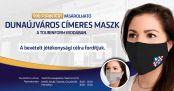 Hírkép: A készlet erejéig még kaphatók a Dunaújváros címeres maszkok
