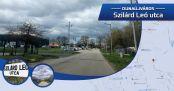 Hírkép: Utcanévnapok II Szilárd Leó utca