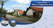 Hírkép: Utcanévnap II Móricz Zsigmond utca