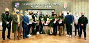 Hírkép: A város vezetői köszöntötték a női vízilabda csapatot
