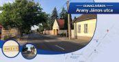 Hírkép: Utcanévnap II Arany János utca