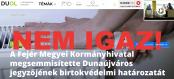 Hírkép: NEM IGAZ, hogy a Fejér Megyei Kormányhivatal megsemmisítette Dunaújváros jegyzőjének birtokvédelmi határozatát