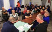 Hírkép: Közel 30 korábbi DVCSH-s dolgozónak tartott eligazítást a DVG Zrt. távhő üzletágának műszaki vezetője