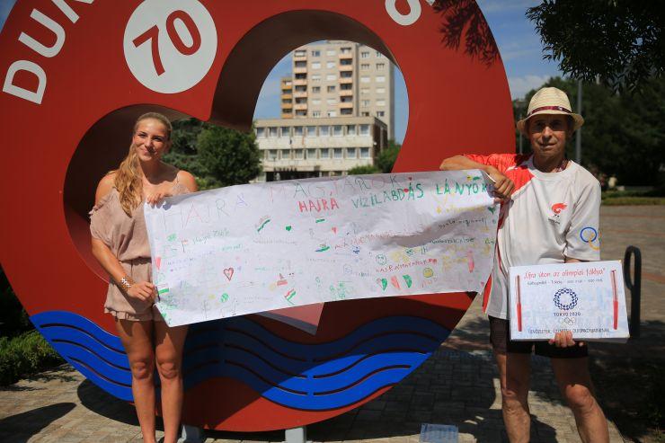 Buzdító üzenet - napló az olimpián szereplő dunaújvárosiaknak